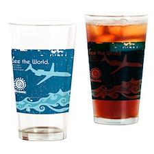 Oceanic Drinking Glass
