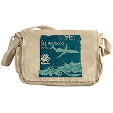 Oceanic Messenger Bag