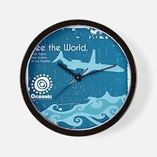 Oceanic Wall Clock