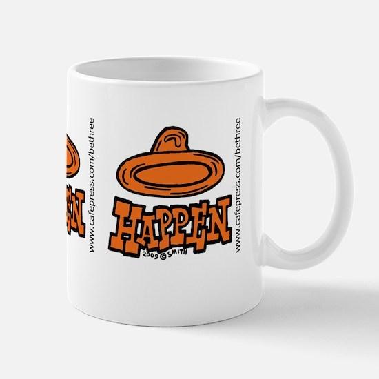 condom_happen_right_orange_bumper_stick Mug