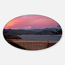 Mt. Shasta at Sunset Decal