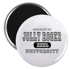 Jolly Roger University Magnet