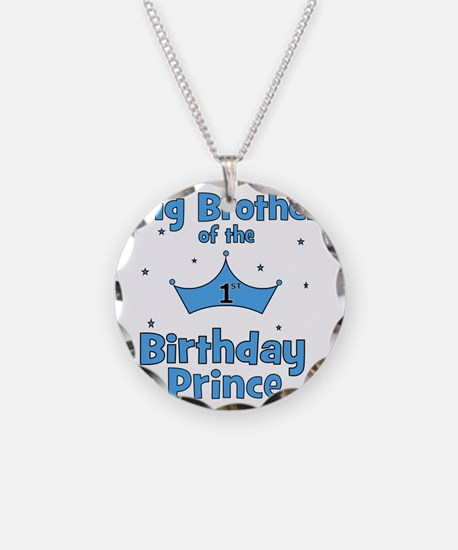 ofthebirthdayprince_bigbroth Necklace Circle Charm