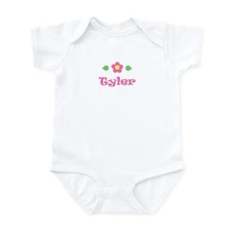 "Pink Daisy - ""Tyler"" Infant Bodysuit"