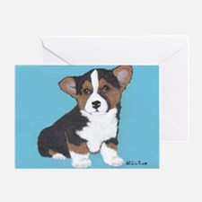 Romeo Blue Greeting Card