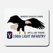 196th LIGHT INFANTRY Mousepad