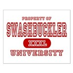 Swashbuckler University Small Poster