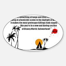Dahmerland_Mug Sticker (Oval)