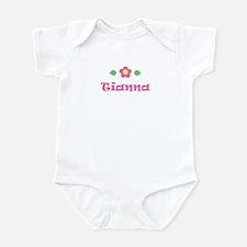"Pink Daisy - ""Tianna"" Onesie"
