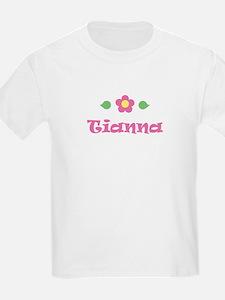 """Pink Daisy - """"Tianna"""" Kids T-Shirt"""