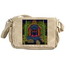 LUCKY RIVER DRAGONcp Messenger Bag