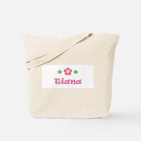 """Pink Daisy - """"Tiana"""" Tote Bag"""