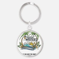 FWF_Journal Round Keychain
