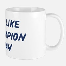 Nap Like a Champion Today Mug
