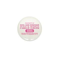 Pirate Wench University Mini Button (10 pack)