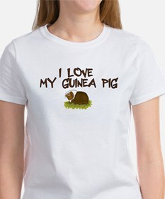 Guinea Pig Love Women's T-Shirt