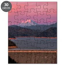 Mt. Shasta Sunset Yoga Mat Puzzle