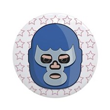 lucha libre blue demon tshirt Round Ornament