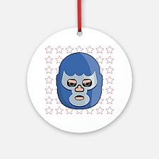 lucha libre blue demon tshirt Round Ornament