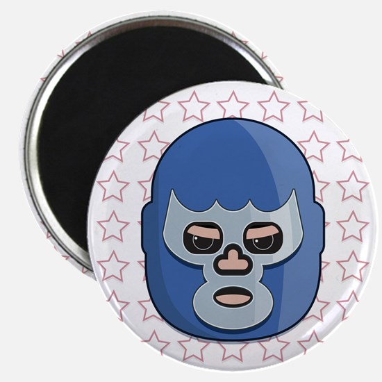 lucha libre blue demon tshirt Magnet