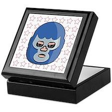 lucha libre blue demon tshirt Keepsake Box