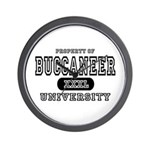 Buccaneer University Wall Clock