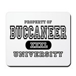 Buccaneer University Mousepad