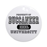 Buccaneer University Ornament (Round)