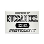 Buccaneer University Rectangle Magnet