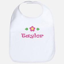 """Pink Daisy - """"Taylor"""" Bib"""