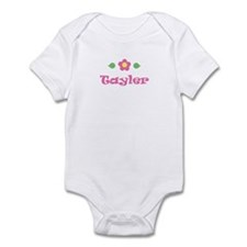 "Pink Daisy - ""Tayler"" Infant Bodysuit"