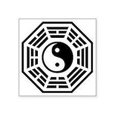 "dharmayin-01 Square Sticker 3"" x 3"""