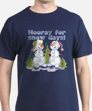 HOORAY for Snow Days! T-Shirt