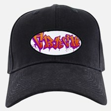 crack_black Baseball Hat