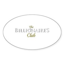 The Billionaire's Club Logo Decal