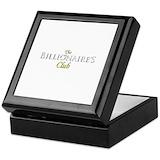 The billionaires club Keepsake Boxes