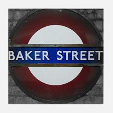 Baker Street Tile Coaster