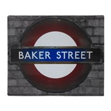 Baker Street Throw Blanket