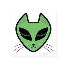 "AlienKitty Square Sticker 3"" x 3"""