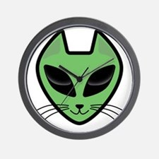AlienKitty Wall Clock