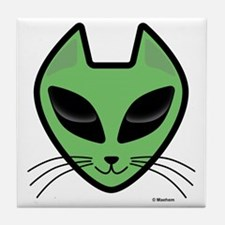 AlienKitty Tile Coaster