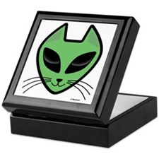 AlienKitty Keepsake Box
