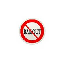 no bailout button copy Mini Button