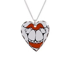 toothy smile 1 transparent Necklace