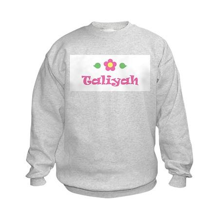 "Pink Daisy - ""Taliyah"" Kids Sweatshirt"