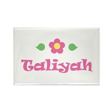 "Pink Daisy - ""Taliyah"" Rectangle Magnet"