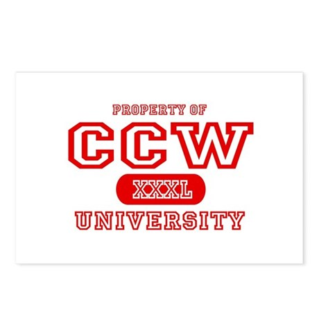 CCW University Postcards (Package of 8)