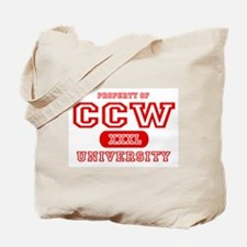 CCW University Tote Bag