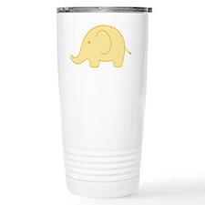 yellow elephant Travel Mug