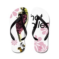 hot roller Flip Flops